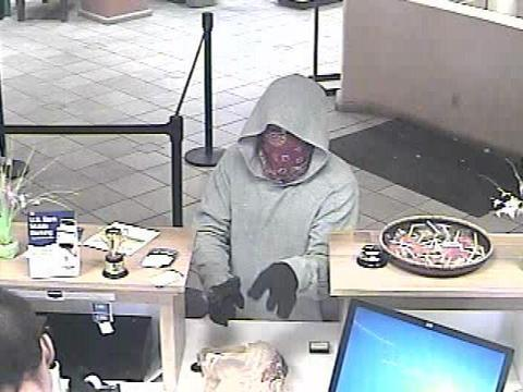 FBI seeks suspect in Santa Fe bank robbery