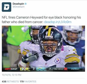 NFL vs. Twitter: Who owns online sports video clips?