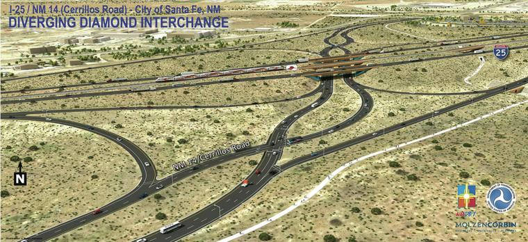 An uncommon face-lift coming to I-25 interchange
