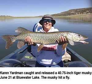 New mexico fishing report the santa fe new mexican outdoors for Ute lake fishing report