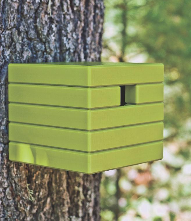 Cube Birdhouse