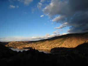 <p>Santa Cruz Lake. Robin Martin/The New Mexican</p>