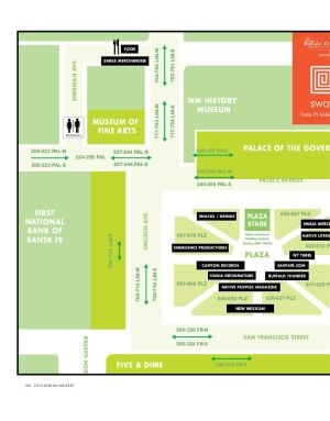 Plaza map for Indian Market
