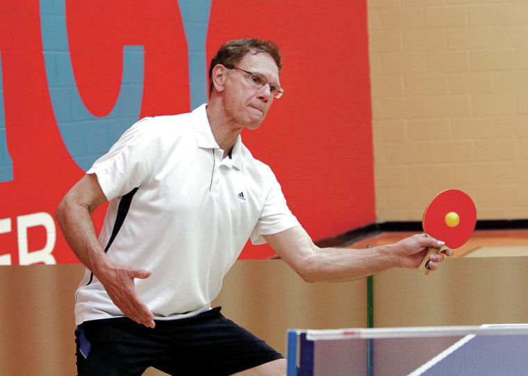 Senior Olympics: Table tennis contenders go for gold