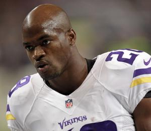 Agent: Peterson return to Vikings not in 'best interest'