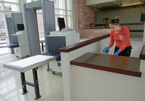 New courthouse gets finishing touches