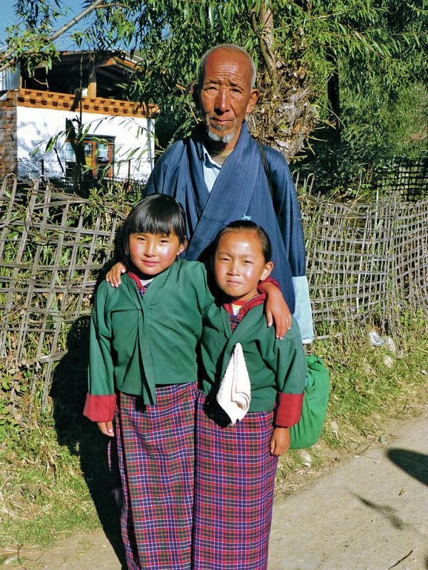 School-bound in Bhutan