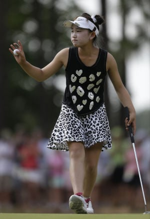 Wie sets a standard in Women's Open at Pinehurst