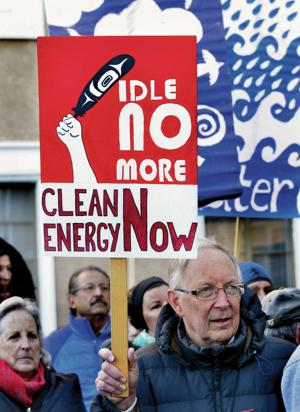 Reader View: 'Idle No More' poster has indigenous roots