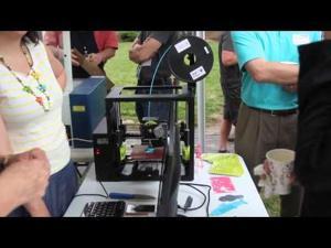 3 D Printer : MAKE Santa Fe