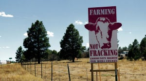 A New Mexico county's fracking ban is all about the water