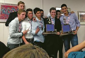 Capital, Prep soccer teams honored at council meeting
