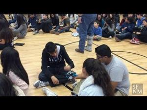 El Camino Real Academy Robotics Fair