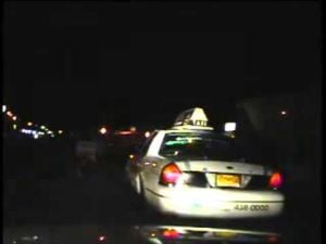 Cab driver alleges excessive force in traffic stop