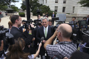 House Republicans name McCarthy as Cantor's replacement