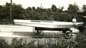 Untitled (Boat on Wheels)