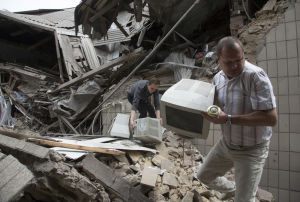 Ukraine airstrike kills civilians
