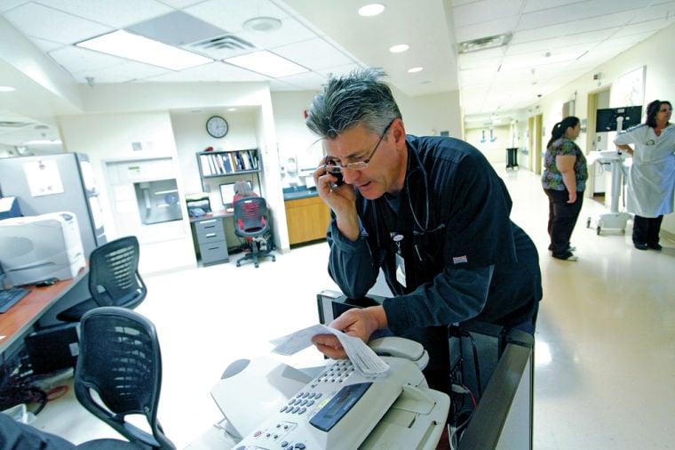 Santa Fe man finds 'new life' as a nurse