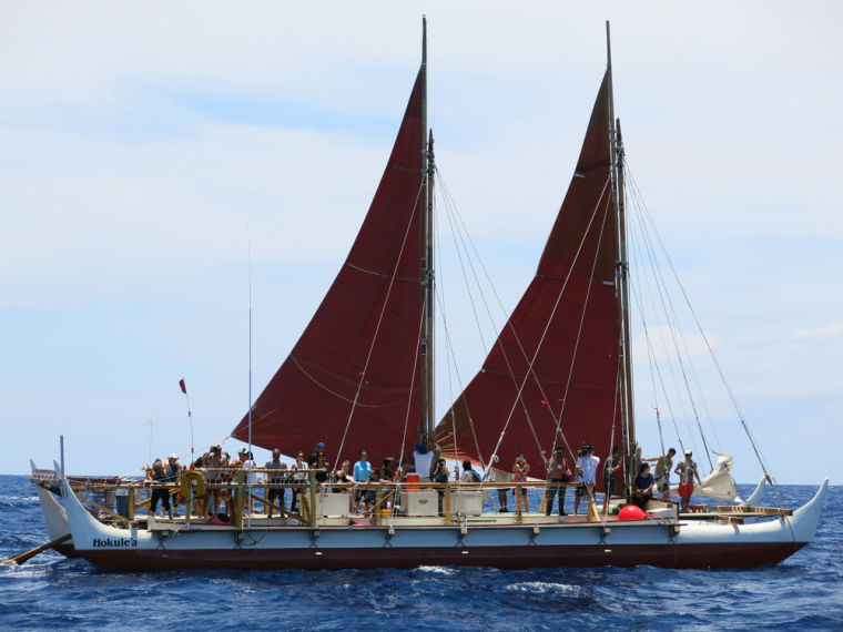 Legendary Hawaii canoe embarks on global odyssey