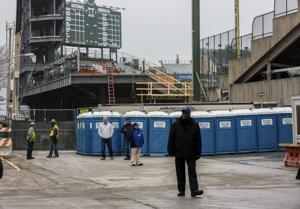 Cubs add portable potties at Wrigley to ease bathroom lines