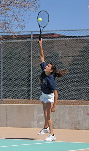 Prep tennis: Lady Hilltoppers win 15th consecutive district title