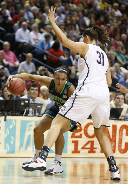 UConn routs Notre Dame 79-58, wins 9th title
