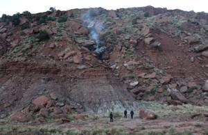 Medical helicopter based in Santa Fe crashes, killing crew of 3