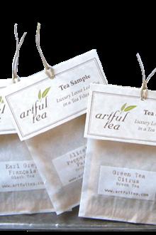 ArtfulTea, Tea samples