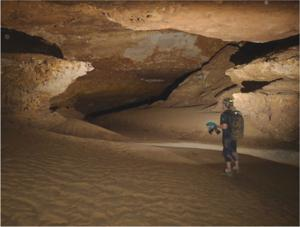 Explorers descend into the depths of Fort Stanton Cave to map Snowy River