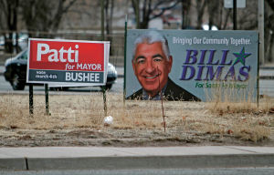 Campaign reports: Dimas outspends rivals in mayor's race