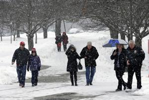 New round of snow could push Boston to season record