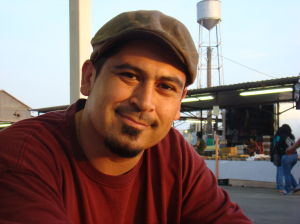 Author Tim Z. Hernandez