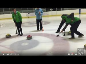 Curling night in Santa Fe