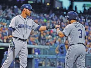 Baseball roundup: Kemp, Norris lead Padres' 17-hit attack in win over Rockies