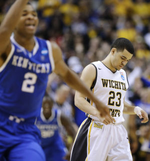 Kentucky ends Wichita State's perfect run, 78-76