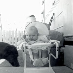 Untitled (Baby and Dog)