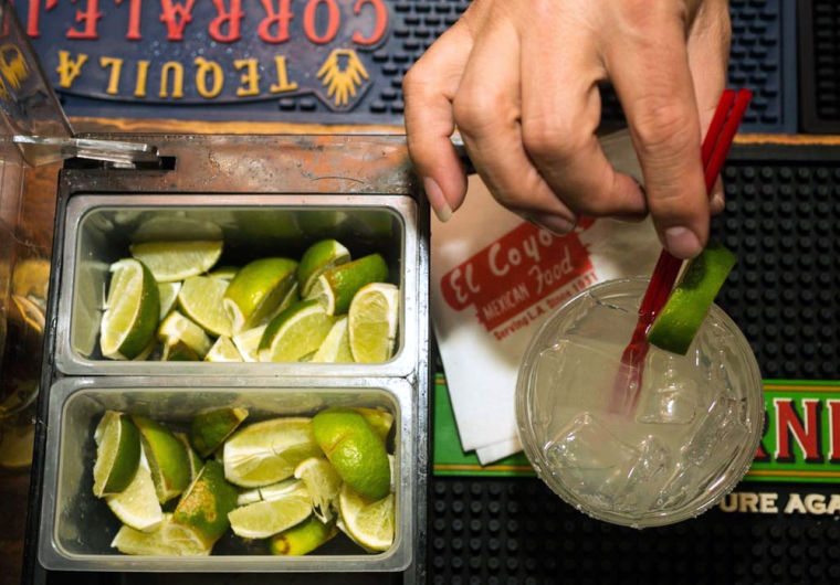 High lime prices giving U.S. bartenders a hangover