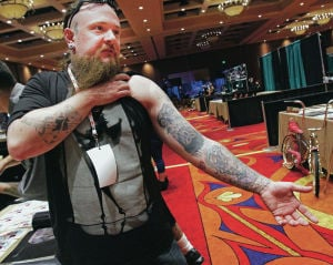Ink enthusiasts turn Buffalo Thunder into 'artist's realm'