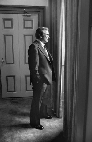 Howard Baker Jr., the former Senate Republican leader, in 1982.