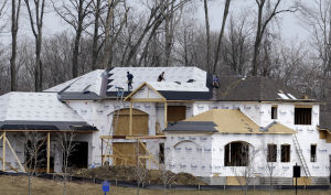 Home building up in March after frigid winter