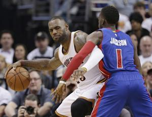 Big 3 back together, lead Cavs to 106-101 win over Pistons