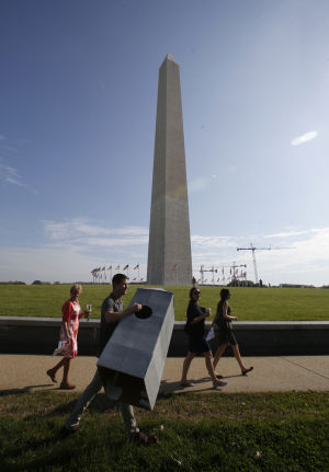 Washington Monument reopening after earthquake