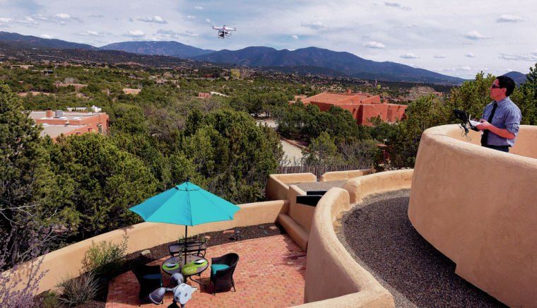 Santa Fe Realtor's drone takes marketing to new heights