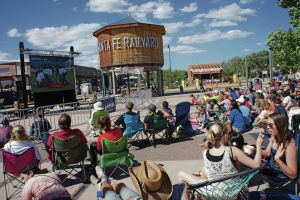Hundreds gather in Railyard to watch U.S. vs. Ghana match
