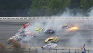 Commentary: NASCAR's Talladega wreckfest comes at a price