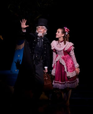 Steve Cook as Drosselmeyer in Aspen Santa Fe Ballet's production of