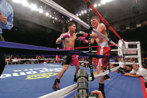 Boxing series returns to Buffalo Thunder