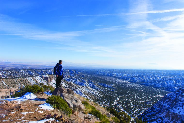 Winter Hiking: Changes in altitude, changes in attitude