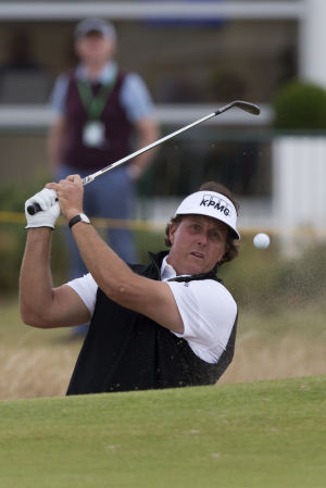 Mickelson confident — at least about links golf