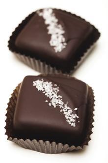 ChocolateSmith, Dark chocolate dipped caramel with sea salt